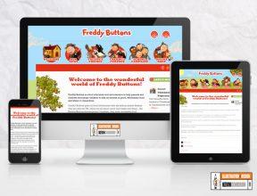 Freddy Buttons Website