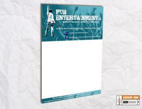 PubEntertainment.ie A3 Poster