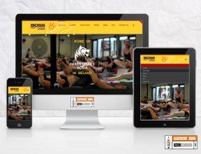 Boss Yoga Studios Website