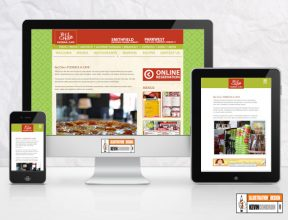 Bel Cibo Pizzeria Website