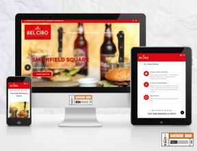 Bel Cibo Website