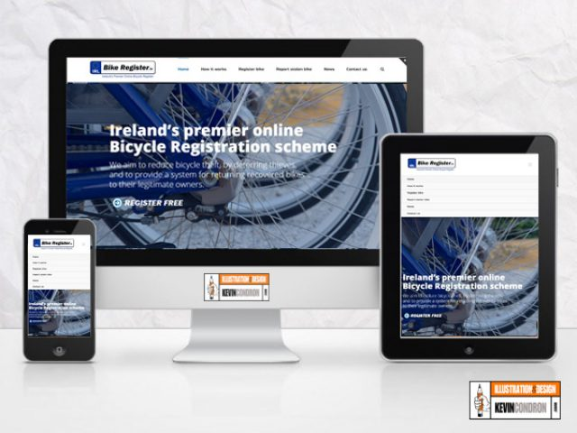 BikeRegister.ie Website Redesign