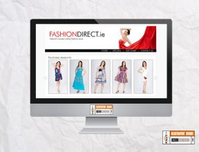 FashionDirect.ie website
