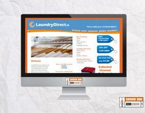LaundryDirect.ie website