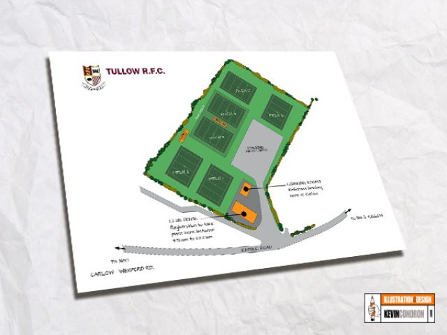Tullow RFC Map