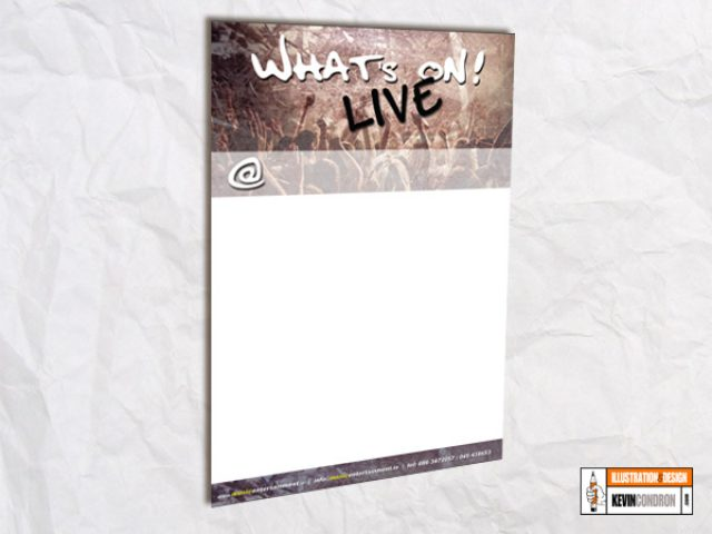 What's On A3 Poster
