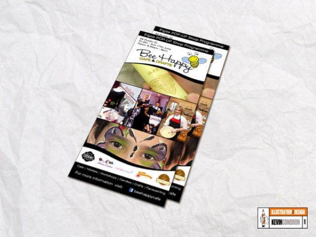 Bee Happy Cafe Flyer
