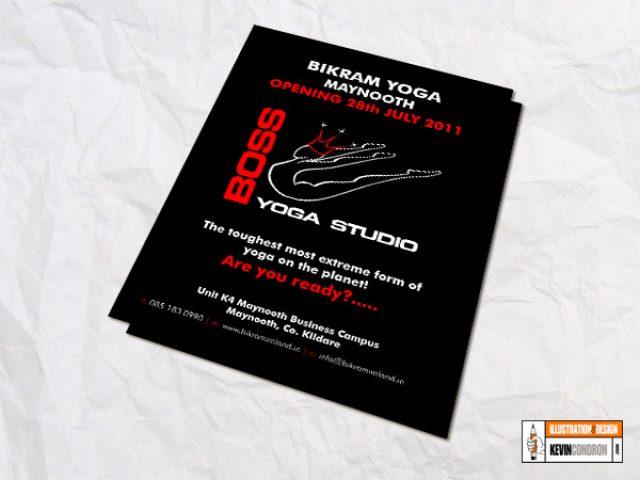 Boss Yoga Studios Flyer – Opening Kildare
