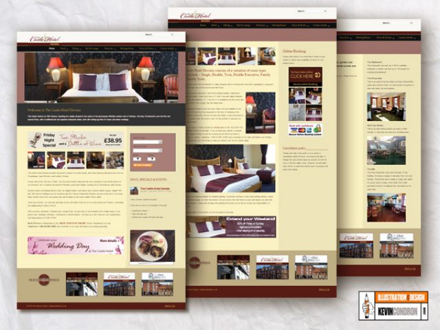 Castle Hotel website