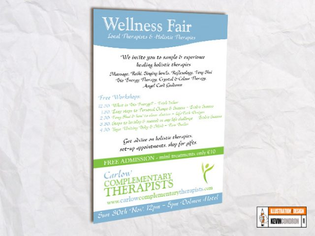Carlow Therapists Fair A4 poster