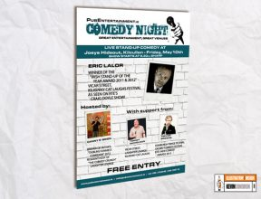 Comedy A3 Poster