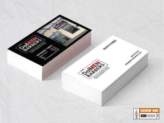 DoleMEN Barbers Business Card