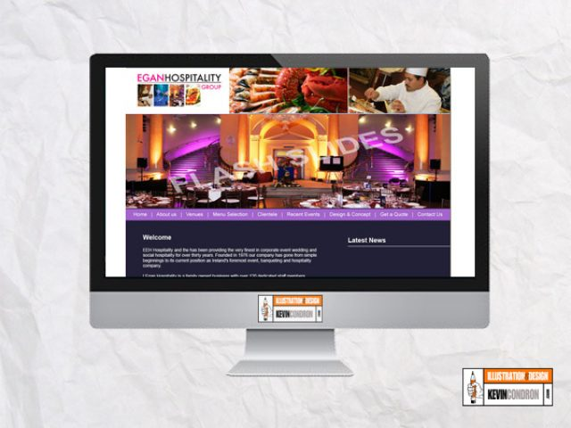 Egan Hospitality website