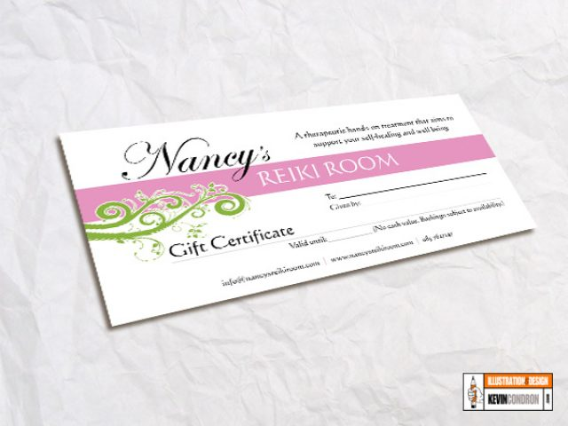 Nancy's Reiki Room Gift Voucher