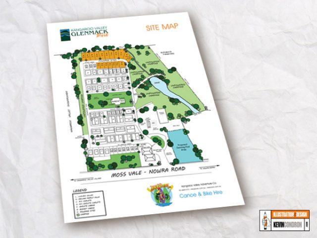 Glenmack Park Map