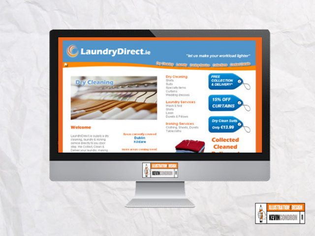 LaundryDirect.ie website