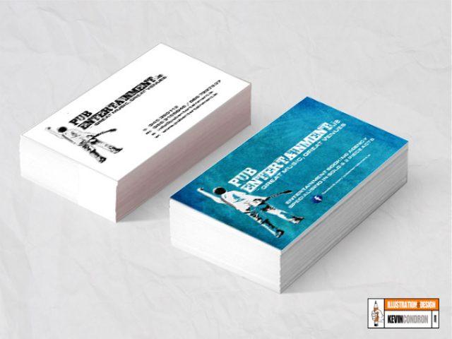 PubEntertainment.ie  Business card
