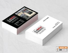 DoleMEN Barbers Business Card