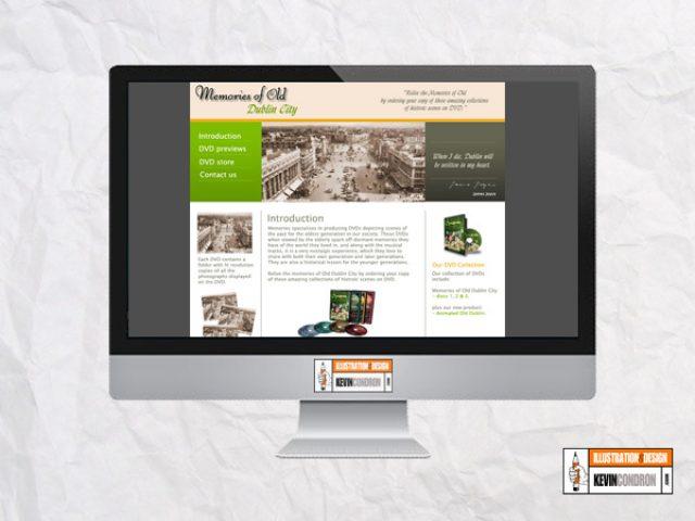Memories DVD's Website