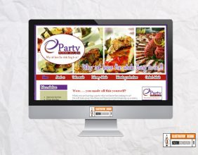 PartyFood2U.ie e-commerce website