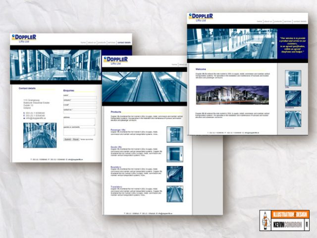web pages