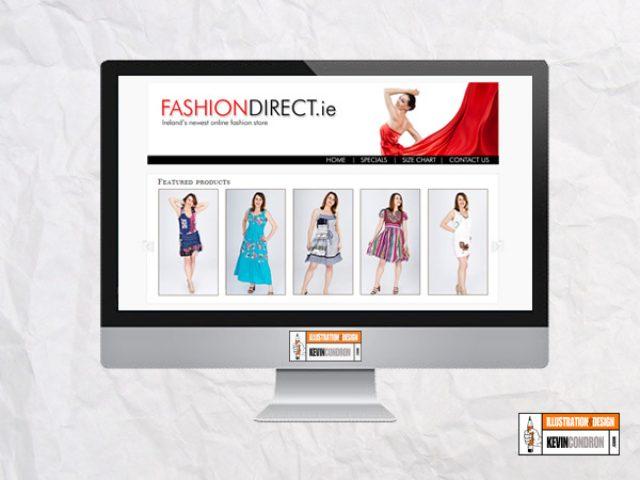 FashionDirect.ie website