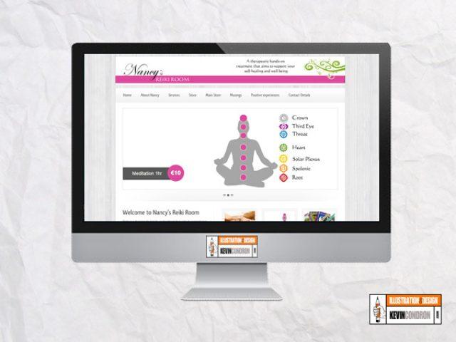 Nancy's Reiki Room website