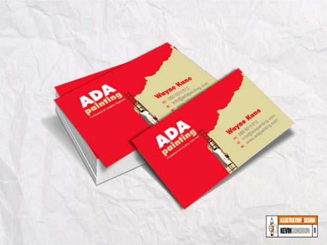 ADA Painting Business Card