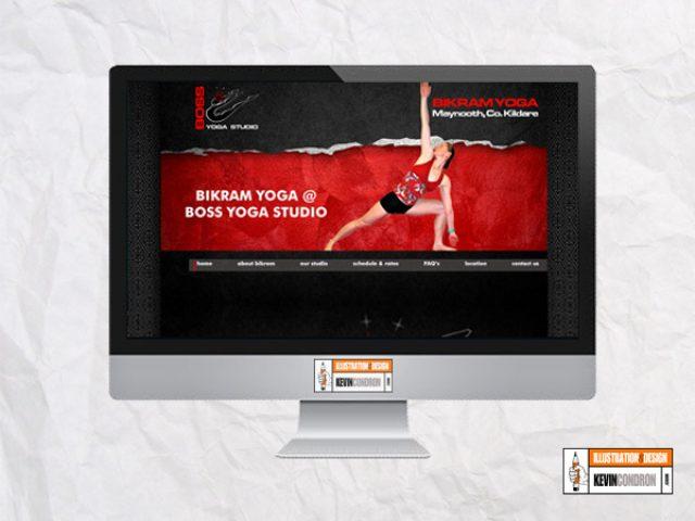 Boss Yoga Studios Website (Kildare)