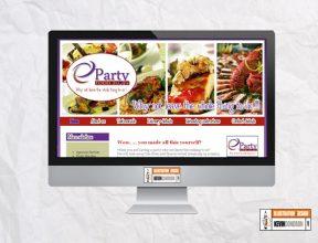 PartyFood2U.ie e-commerce website