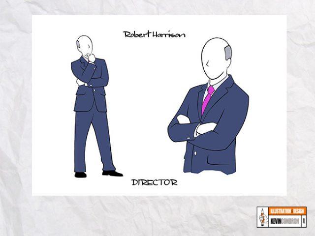 Model Sheet - Character 2
